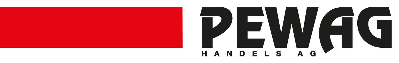 PEWAG Handels AG - Rain, Luzern-Logo